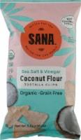 The Real Coconut Sana Sea Salt & Vinegar Coconut Flour Tortilla Chips - 5.5 oz