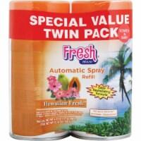 Fresh House Hawaiian Fresh Air Freshener Refill (2-Count) 100037 Pack of 6 - (2) 6.17 Oz.