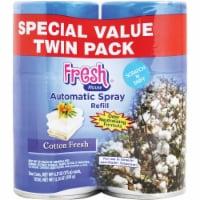 Fresh House Cotton Fresh Air Freshener Refill (2-Count) 100040 Pack of 6 - (2) 6.17 Oz.