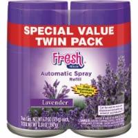 Fresh House Lavender Air Freshener Refill (2-Count) 100047 Pack of 6