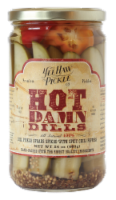YeeHaw Pickle Co. Hot Damn Dill Pickle Spears - 24 oz