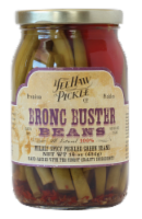 YeeHaw Pickle Co. Bronc Buster Beans Mildly Spicy Pickled Green Beans - 16 oz