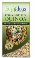 FreshIdeas  Italia Inspired Quinoa with Sundried Tomatoes & Sweet Basil