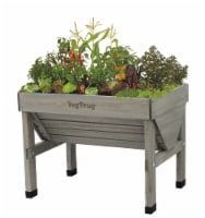 VegTrug Small Raised Bed Planter - Gray Wash FSC 100%