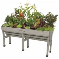 VegTrug Wallhugger Medium Raised Bed Planter - Gray Wash 100% FSC