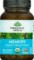 Organic India Memory Herbal Supplement Caps