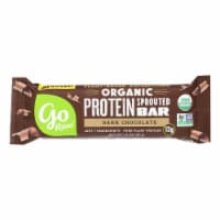 Go Raw - Organic Protein Bar - Dark Chocolate - Case of 12 - 1.9 oz.