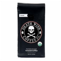 Death Wish Coffee Dark Roast Ground Coffee