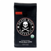 Death Wish Coffee Organic Dark Roast Whole Bean Coffee