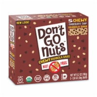 Don't Go Nuts Gorilla Power Certified Organic Chewy Chocolate Chip Granola Bars 5 Count