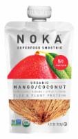 NOKA Superfood Smoothie Organic Mango Coconut Smoothie Pouch - 4.22 oz