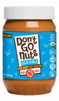 Don't Go Nuts Lightly Sea Salted Soy Butter