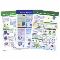 NewPath Learning 1567143 Bulletin Board Chart - Matter & Interactions - Set of 3 - Grade 5-8