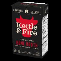 Kettle & Fire Classic Beef Bone Broth - 16.9 oz