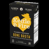 Kettle & Fire Classic Chicken Bone Broth - 16.9 oz