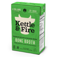 Kettle & Fire Lemongrass Ginger Beef Bone Broth