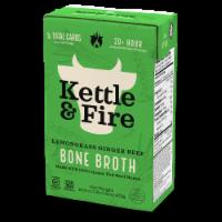 Kettle & Fire Lemongrass Ginger Beef Bone Broth - 16.9 oz