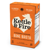 Kettle & Fire Turmeric Ginger Bone Broth - 16.9 oz