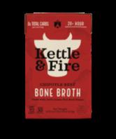 Kettle & Fire Chipotle Beef Bone Broth - 16.9 oz