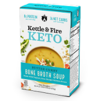 Kettle & Fire Butter Curry Soup with Chicken Bone Broth - 16.9 oz