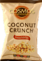 Cosmos Creations Coconut Crunch Puffed Corn