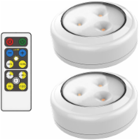 Brilliant Evolution® Wireless LED Puck Lights - White