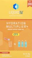 Liquid I.V. Hydration Multiplier+ Tangerine Immune Support Drink Mix - 6 ct / 0.56 oz
