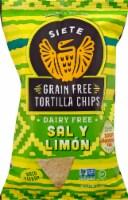 Siete Sal Y Limon Grain Free Tortilla Chips