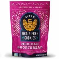 Siete Grain Free Mexican Shortbread Cookies - 4.5 oz