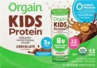 Orgain Kids Protein Chocolate Organic Nutritional Shake