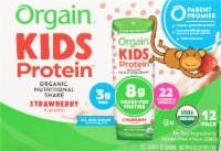 Orgain Healthy Kids® Organic Strawberry Nutritional Shakes