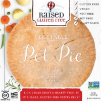 Natural Decadence Gluten Free Vegan Pot Pie