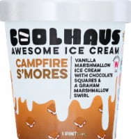 Coolhaus Campfire S'mores Vanilla Marshmallow Ice Cream