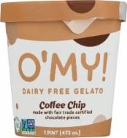 O'MY Dairy Free Coffee Chip Gelato Pint