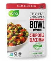 Vana Life Foods Chipotle Black Bean Green Chickpea Superfood Bowl