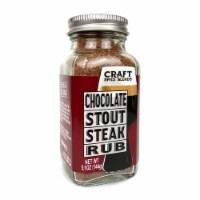 Chocolate Stout Steak Rub - 5.1oz