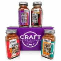 Craft Spice Blends BBQ Rubs Gift Set - 1 Set