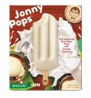 Jonny Pops Old Fashioned Root Beer Float with Fresh Cream Pops - 4 ct / 2.06 oz