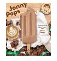 Jonny Pops Cold Pressed Choco Latte with Fresh Cream Pops - 4 ct / 2.06 oz
