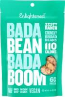Enlightened Bada Bean Bada Boom Zesty Ranch Crunchy Broad Beans Snack