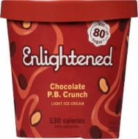 Enlightened Chocolate Peanut Butter Light Ice Cream