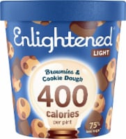 Enlightened Brownies & Cookie Dough Light Ice Cream