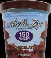 Arctic Zero Frozen Desserts Chocolate
