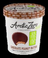 Arctic Zero Chocolate Peanut Butter Frozen Desserts - 1 pt