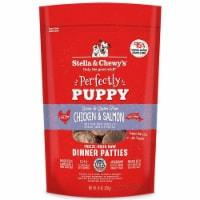 Stella & Chewys 852301008106 5.5 oz Dog Freeze Dried Puppy Chicken Salmon Dinner Patties - 1