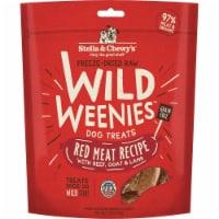 Stella & Chewys 852301008168 3.25 oz Dog Freeze Dried Weenie Red Meat Treats - 1