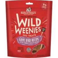 Stella & Chewys 852301008175 3.25 oz Dog Freeze Dried Weenie Game Bird Treats - 1