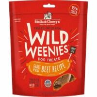 Stella & Chewys 852301008243 11.5 oz Dog Freeze Dried Weenie Beef Treats - 1