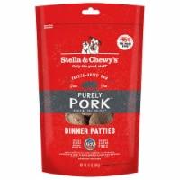 Stella & Chewy 84000876 14 oz Dog Freez Dried Dinner Patties Pork - 1