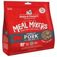 Stella & Chewy 84000878 18 oz Dog Freez Dried Meal Mixers Pork - 1